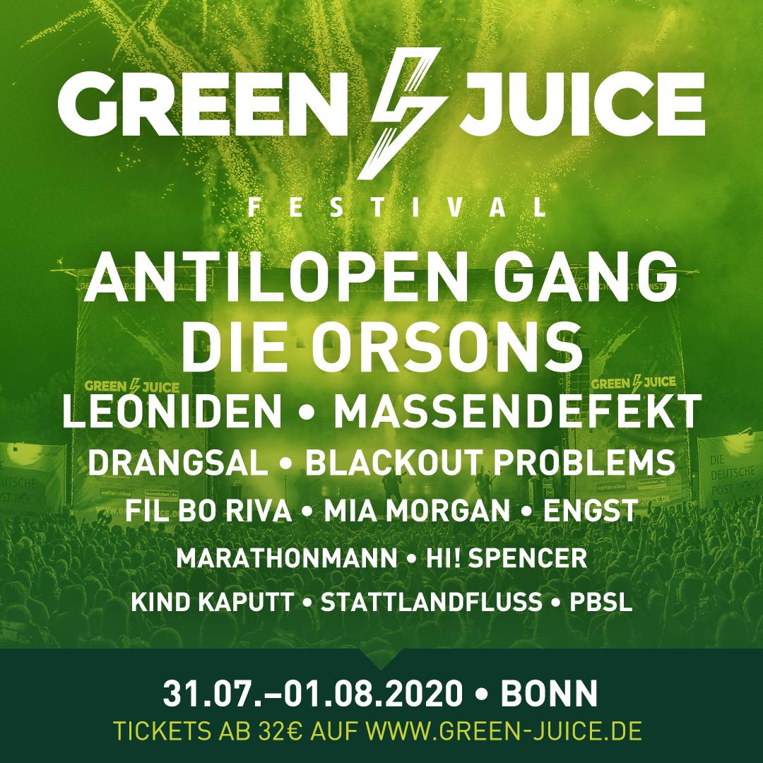 PBSL auf dem Green Juice Festival